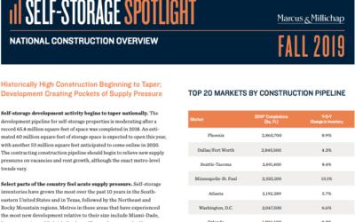 2019 National Self-Storage Construction Spotlight
